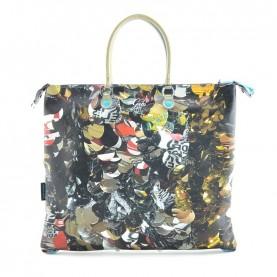 Gabs G3 Plus L printed bag trip ruga 411 paillettes