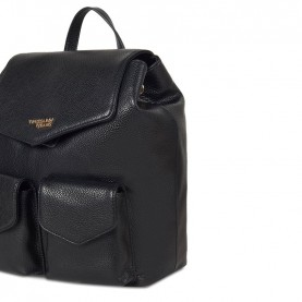 Trussardi jeans 75B00830 Charlotte black backpack