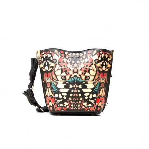 Desigual 20WAXPAI butterfly shoulder bag