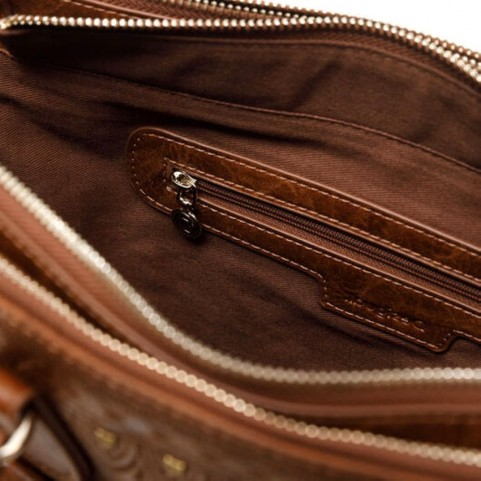 Desigual 20WAXP82 brown handle bag