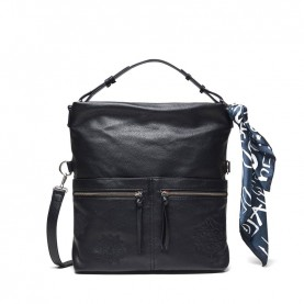 Desigual 20WAXPC6 black satchel bag