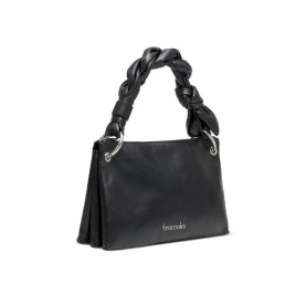 Braccialini B14661 Charlize black bag with braid