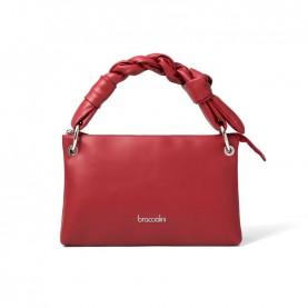 Braccialini B14661 Charlize red bag with braid