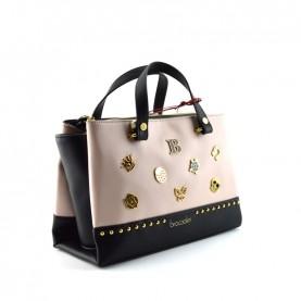 Braccialini B14361 Asia lucky pink and black bag