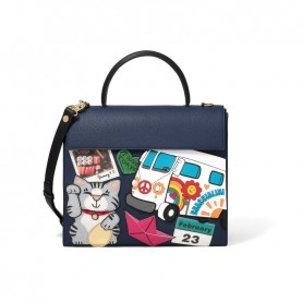 Braccialini B14462 Stickers handle bag