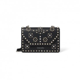 Braccialini B14502 Rock shoulder bag with studs