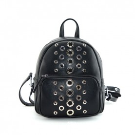 Cult 1129 black backpck with studs