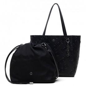 Desigual 20WAXPBK black shopper bag