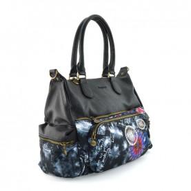 Desigual 20WAXACR black handle bag