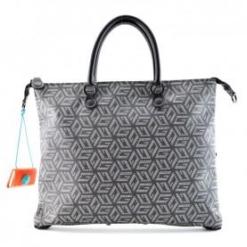 Gabs G3 Plus M studio bag printed g-cube white black