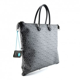 Gabs G3 Plus L studio bag printed g-cube white black