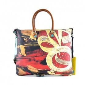 Gabs Week Plus M studio bag printed 466 bow