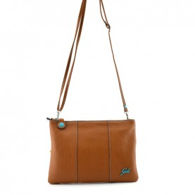Gabs Beyonce M light brown leather bag