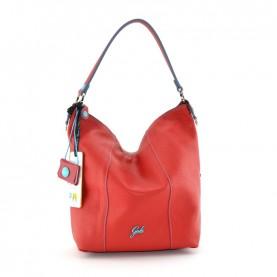 Gabs Sofia L red leather bag