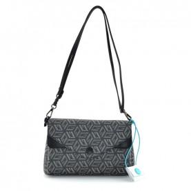 Gabs Claudia M g-cube white black shoulder bag