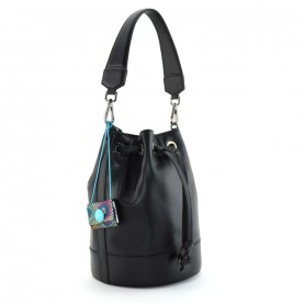 Gabs Aurora L black leather bag