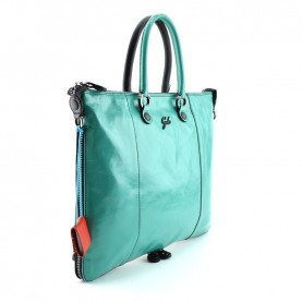 Gabs Week Plus M black and turquoise bag