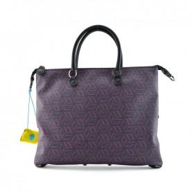 Gabs G3 Plus M studio bag printed g-cube fuxia black