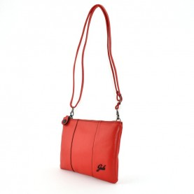 Gabs Beyonce S blood red leather bag