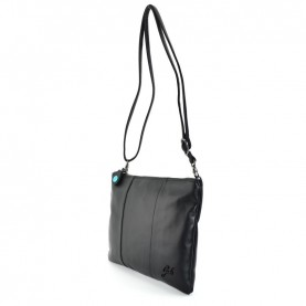 Gabs Beyonce M black leather bag
