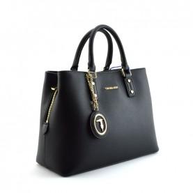 Trussardi jeans 75B00967 Mosca black shopping bag