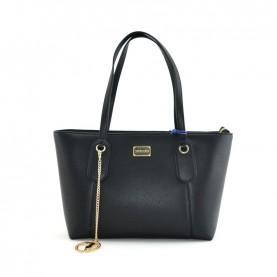 Trussardi jeans 75B00972 Monaco black shopper bag