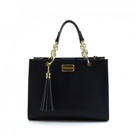 Trussardi jeans 75B000976 Amsterdam black handle bag