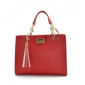 Trussardi jeans 75B000976 Amsterdam red handle bag