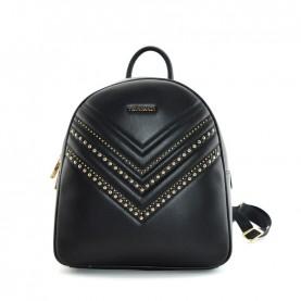 Trussardi jeans 75B00994 Berlino black backpack with studs