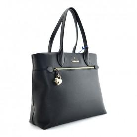 Trussardi jeans 75B01080 black shopper bag