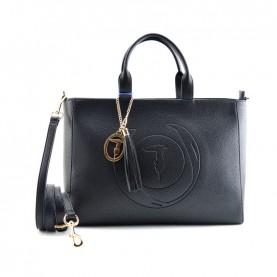 Trussardi jeans 75B01031 Faith black shopper bag