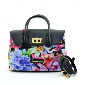 Braccialini B11470 Alessandra flowers handle bag
