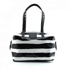 Gabs Gabsille shopping Gilda L 68 stripes white/black