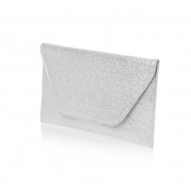 Barachini CC007A silver crack leather bag