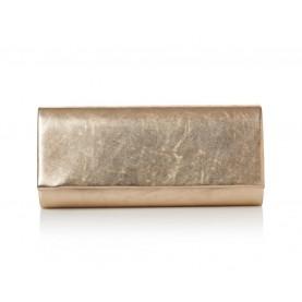Barachini CC008Z peach laminated leather bag