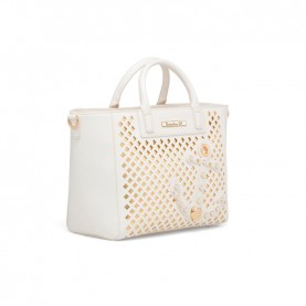Braccialini B12882 Tua Summer white handle bag