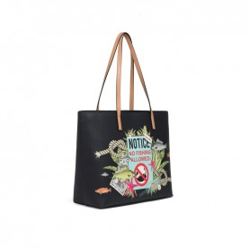 Braccialini B13152 Tua Britney shopping bag black