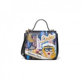 Braccialini B12792 Tua Cartoline handle bag Dubai