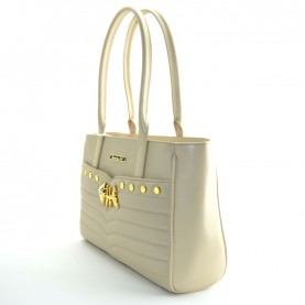 Braccialini B12923 Tua Icons beige shopping bag