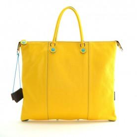 Gabs G3 L leather bag palmellato yellow
