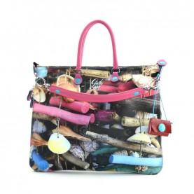 Gabs G3 Plus M studio bag printed 380 conchiglie
