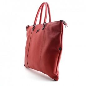 Gabs G3 plus Black L red leather bag