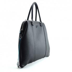 Gabs Cri L Black black alce leather bag