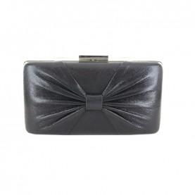Menbur 84564 black clutch with bow