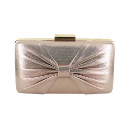 Menbur 84564 even rose clutch with bow