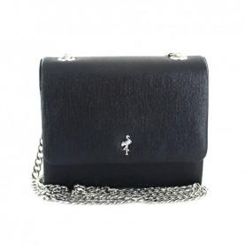 Menbur 44991 black glitter clutch