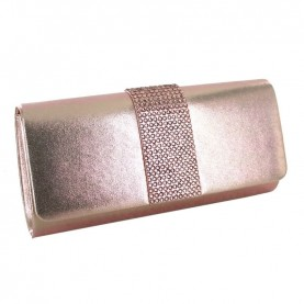 Menbur 84561 even rose clutch with strass