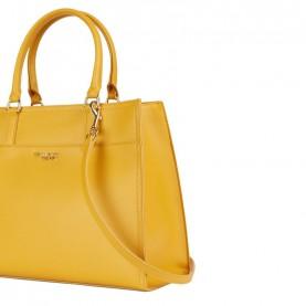Trussardi jeans 75B00697 T-Easy Tote yellow bag