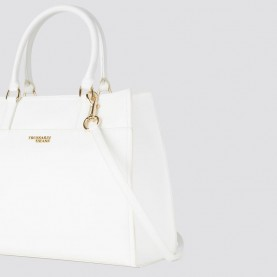 Trussardi jeans 75B00697 T-Easy Tote white bag