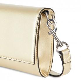 Trussardi jeans 75B00673 T-Easy star gold clutch bag